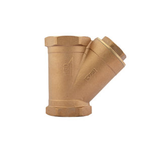 CLASS 150 BRONZE Y-PATTERN STRAINER (FIG :7654L)